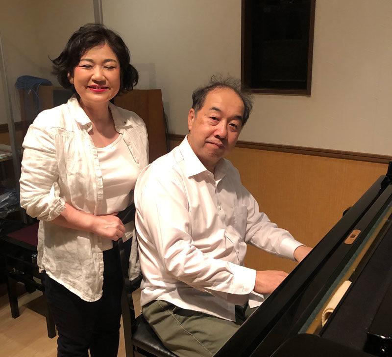 ピアニスト岩崎大輔様とシャンソン歌手