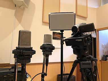 セルフレコーディング撮影機材